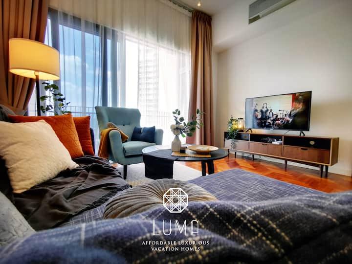 1BR Lux Home | 500M Walk to KLCC | Netflix+Bathtub
