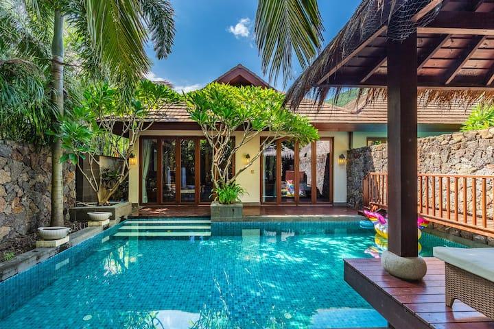 意居东南亚雨林二居泳池度假别墅(实图)