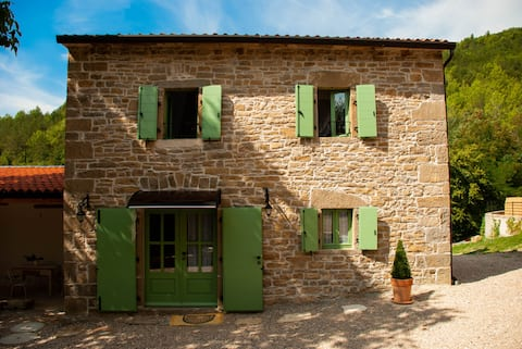 Romantic Casa Contessa near Motovun