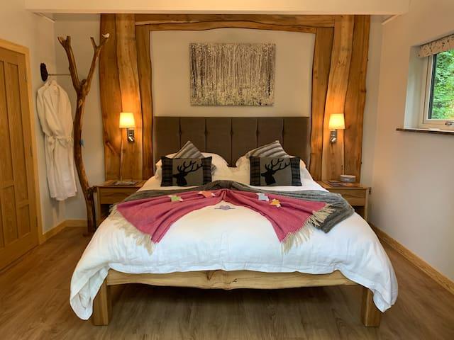 Superking custom built bed