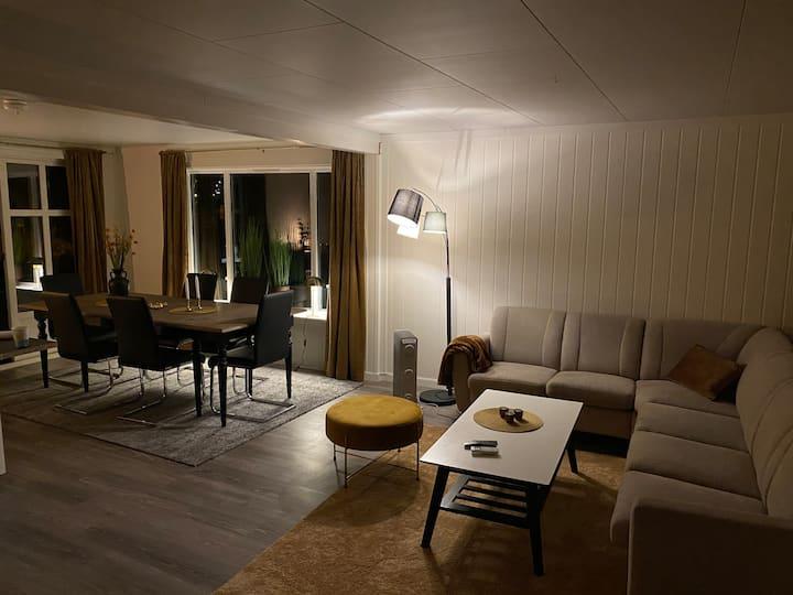 Moderne leilighet, sentral beliggenhet på Inndyr.