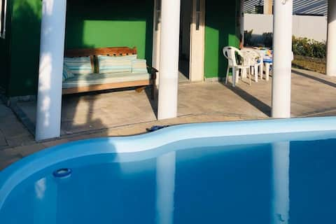 Casa Beira Mar, Jauá, 5 Quartos, Piscina Privativa