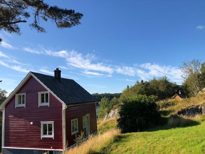 Ferienhaus auf Tysnes/Uggdal