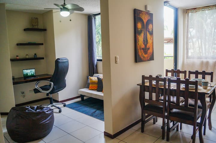 [100Mbps-NearBeach] Mindful-Stay@Pool Front Condo
