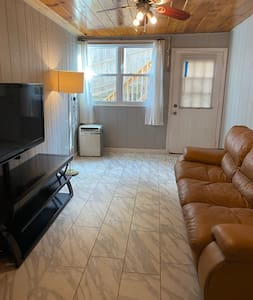 The whole 1 bedroom apartment is available for you