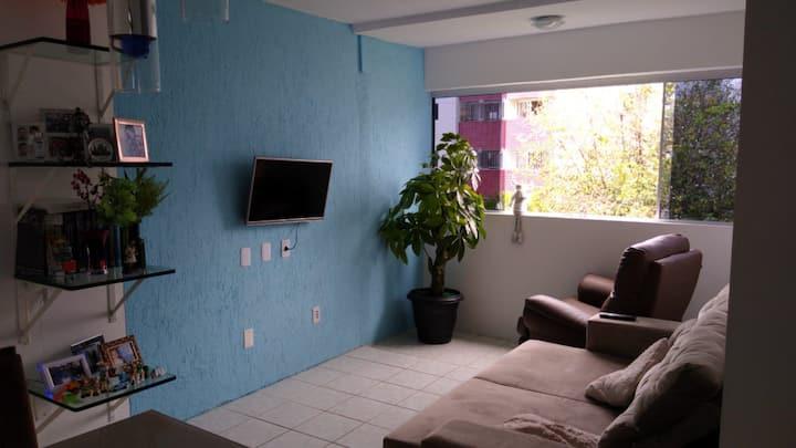 Apartamento inteiro, decoração show bem localizado