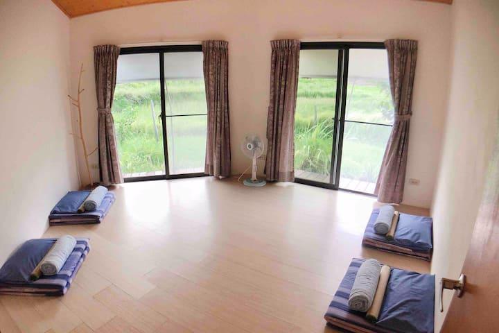 《蘭嶼綠建築-天空的眼睛》芋田綠光靜心和室