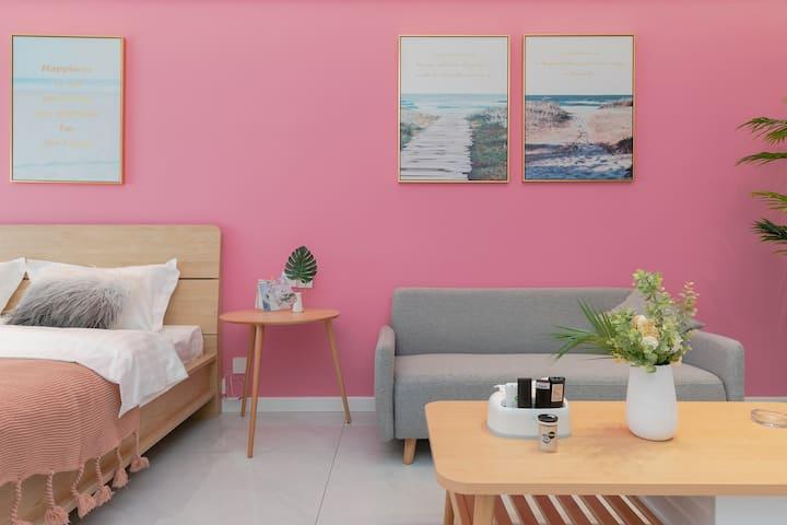 【珑寓】全屋智能/粉色气泡水/宝龙一居室
