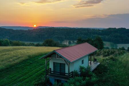 Hiška v naravi samo za vas!