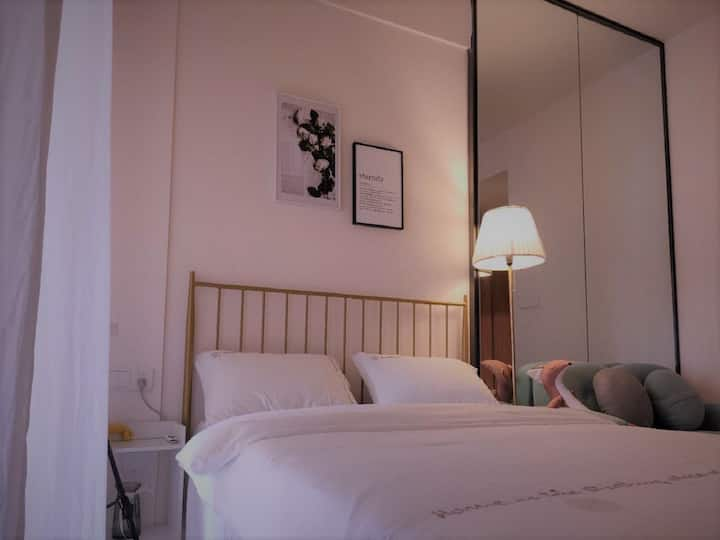 投影房/沃尔玛/南国泛悦/北欧轻奢小公寓