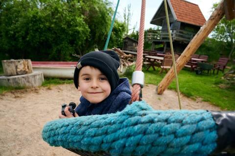 kinderfreundlicher Ferienhof an der Ostsee