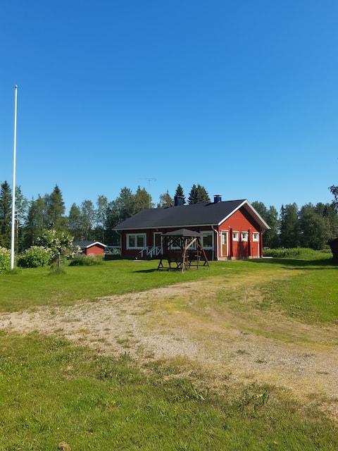 Casa suggestiva vicino al fiume Kemijoki