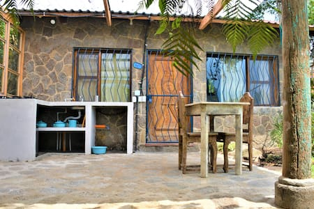 Stone cottage with kitchen 1-3pers Posada Santiago