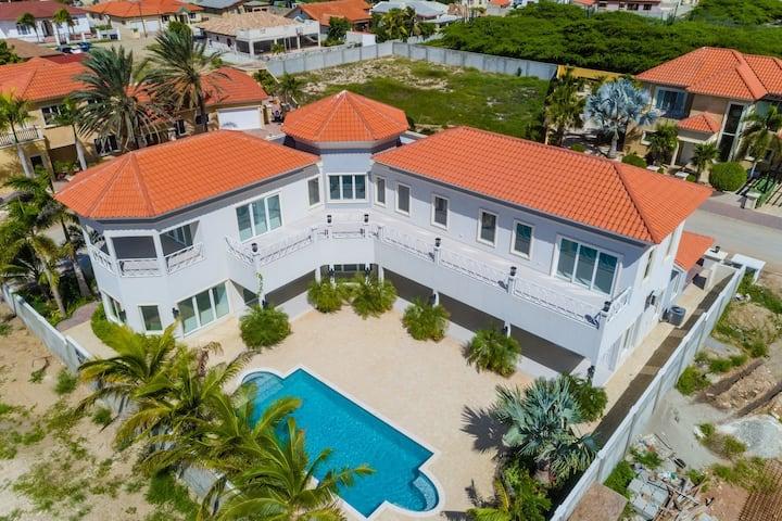 BRAND NEW 4BR 5BA Villa w/ PrivatePool & SeaViews