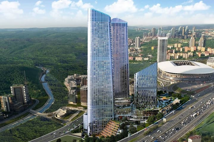 Turkey's highest building complex