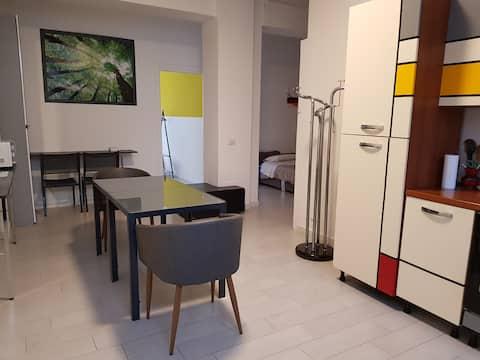 Loft/office in southern Milan