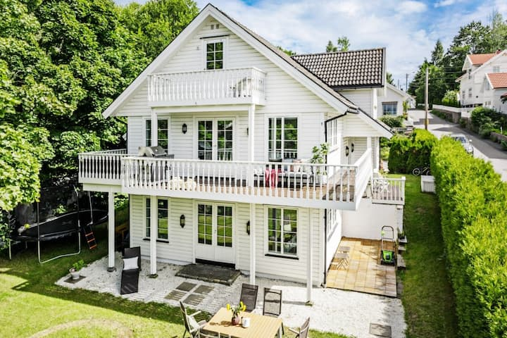 Spacious 5Br Villa in prime location of Sandefjord