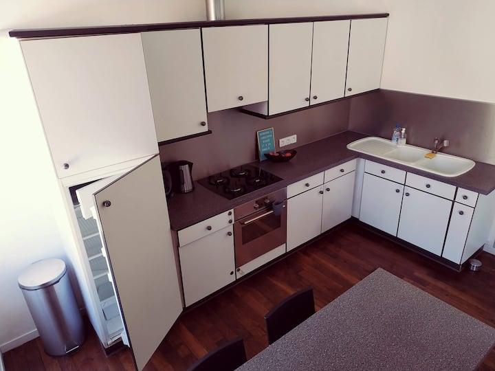 2 chambres à Bar-le-duc, cuisine, entrée autonome.