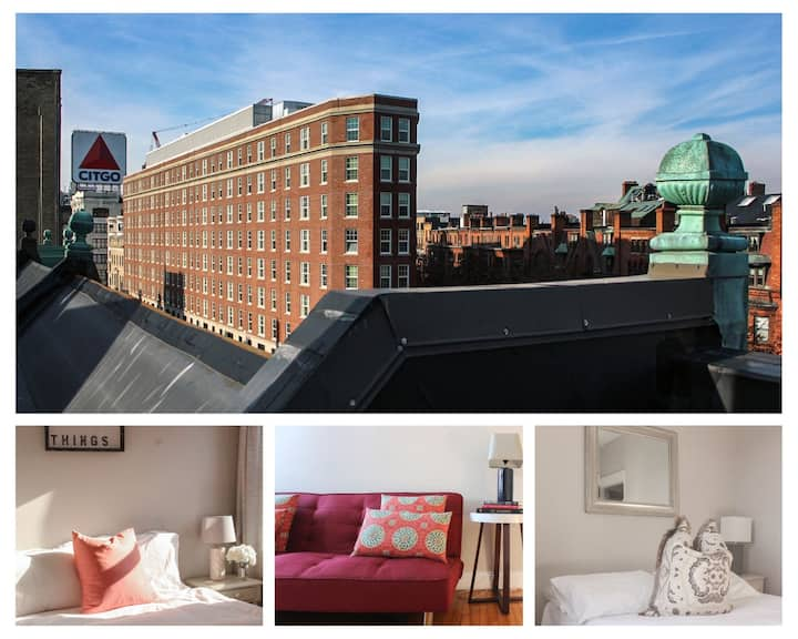 (K8) Kenmore Sq, 2bed with common Deck
