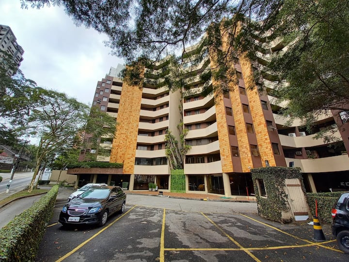 Apart 07 com 2 Dorm, no Flat The Hill Residence