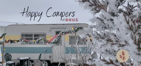 Happy Campers at RHUS AirBNB