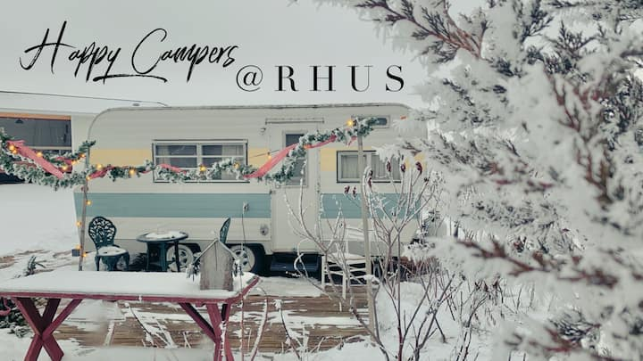 Happy Campers at RHUS!  Visit RHUSWI.COM
