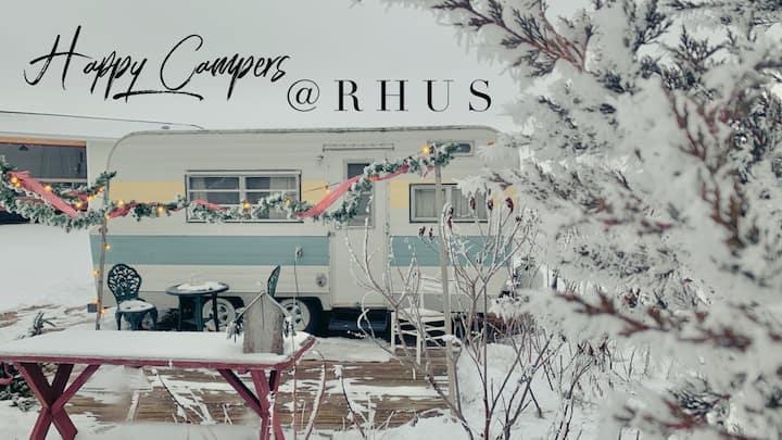 Happy Campers at RHUS!  Visit RHUSWI.COM
