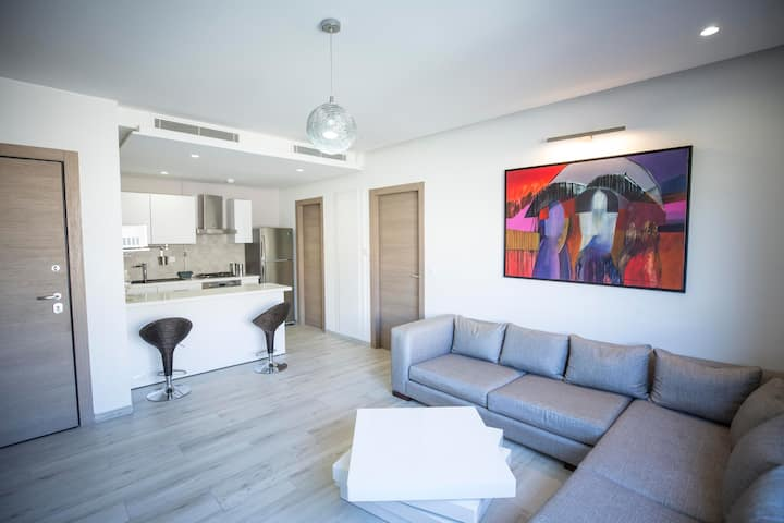 Residence Malaga:Cosy and spacious 1bd in La Marsa