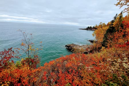 Cozy Timber Trails on Lake Superior