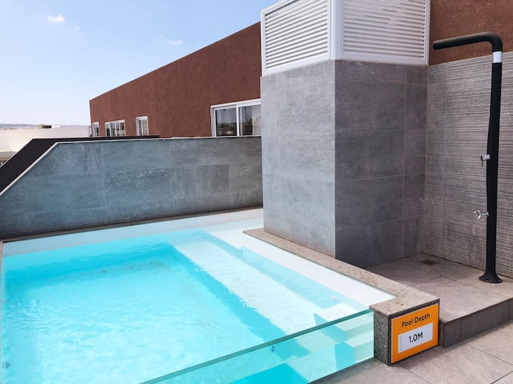 ★ Central LUX Apartment ★ w/ POOL & 25m² terrace ⮕