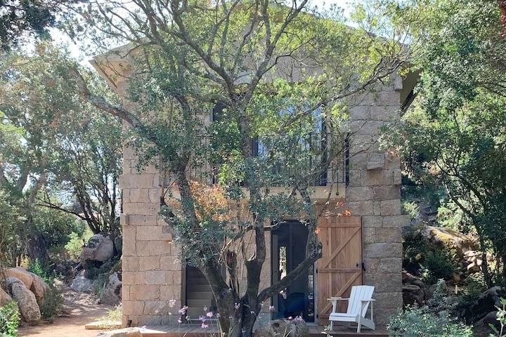 Maison de village à Sotta, 5 personnes, piscine