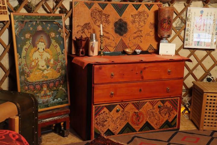 ein mongolisches Wohnerlebnis