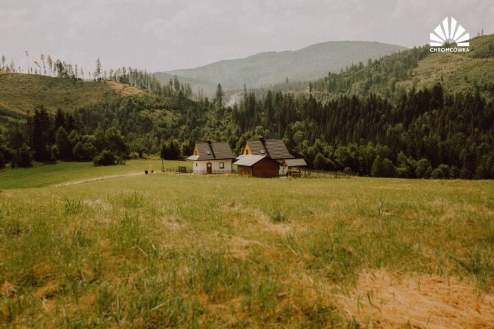 Chromcówka - ciche, piękne miejsce w górach.