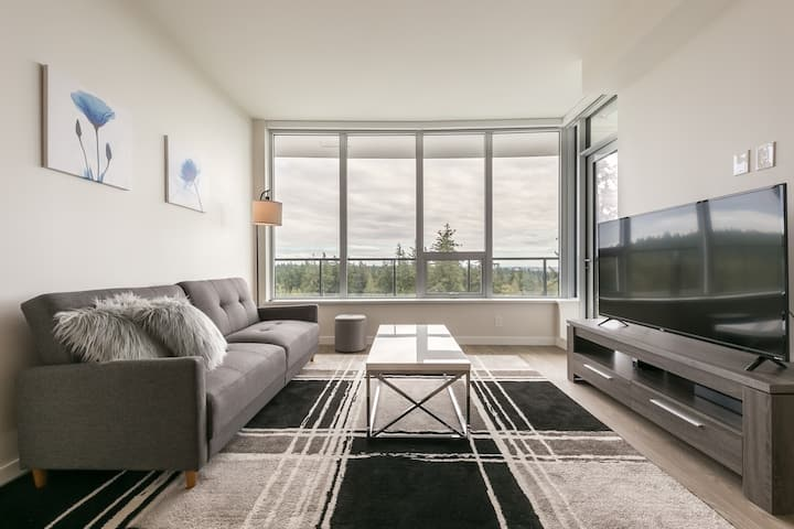 D12 - Luxury two bed two bath at UBC