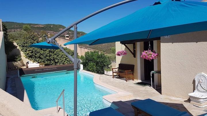 Villa La Mistralade vue exceptionnelle