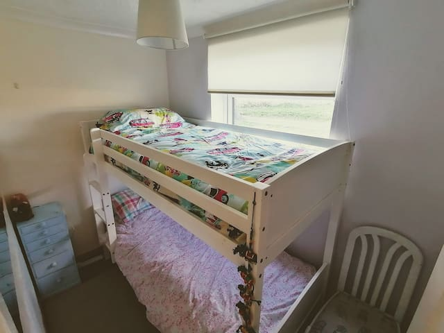 Two small persons cosy room