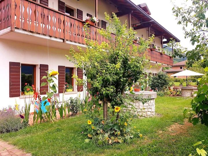 La Rocconella appartement aux portes des Dolomites