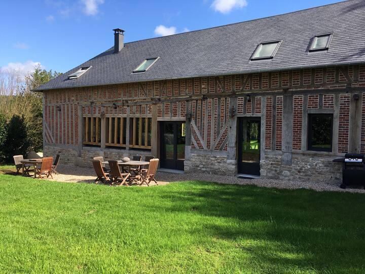 Pressoir Normand rénové et décoré