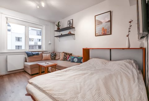 Cozy apartment in the beautiful Sagene district