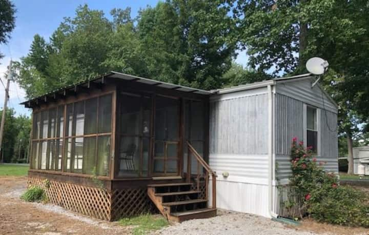 Woodsy 2 bedroom Mobile Home 14 at Watts Bar Lake
