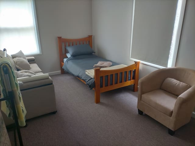 Bedroom 2, with pull out sofa.