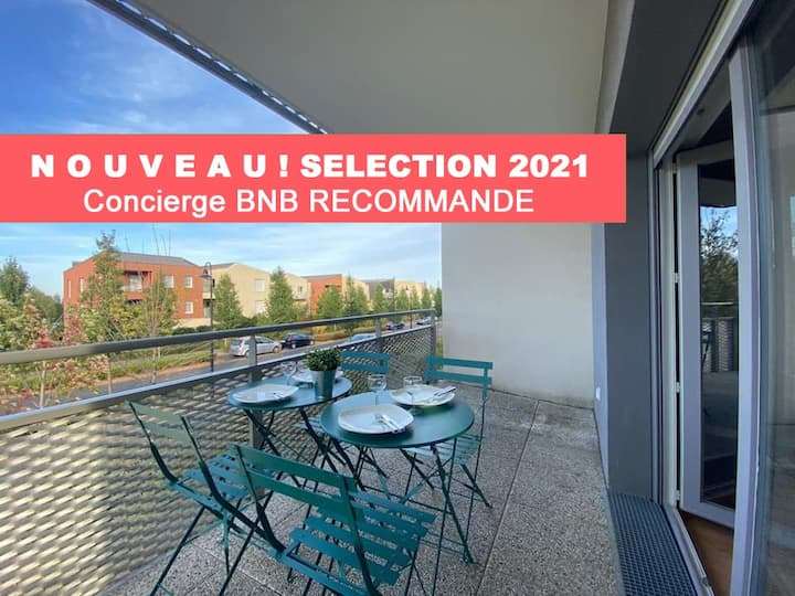 Z4 Résidence BNB Disney Chessy - Balcon