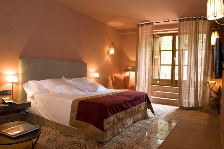 Suite con terraza privada