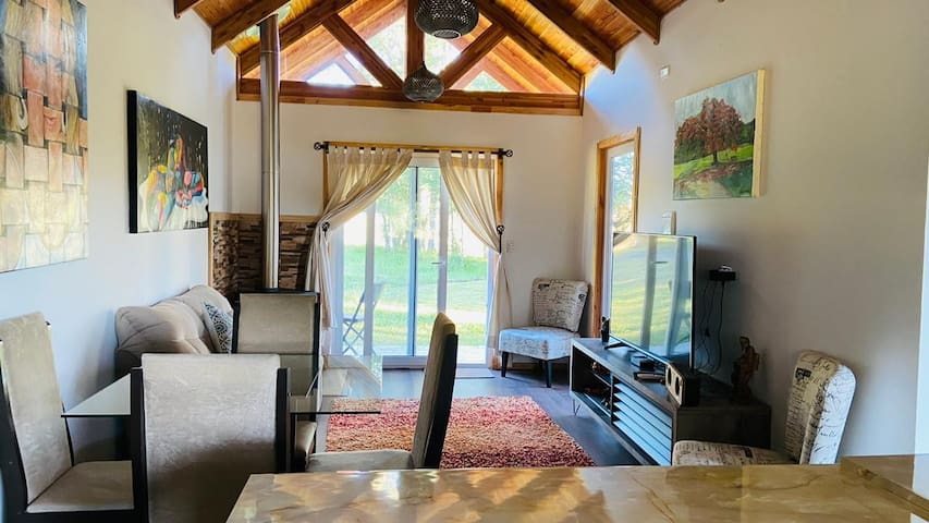 Holidays in Villarrica, cabin for 6 people.