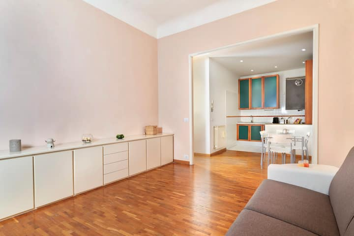 Donatello Warm Apartment - 200Mt from Walking Area