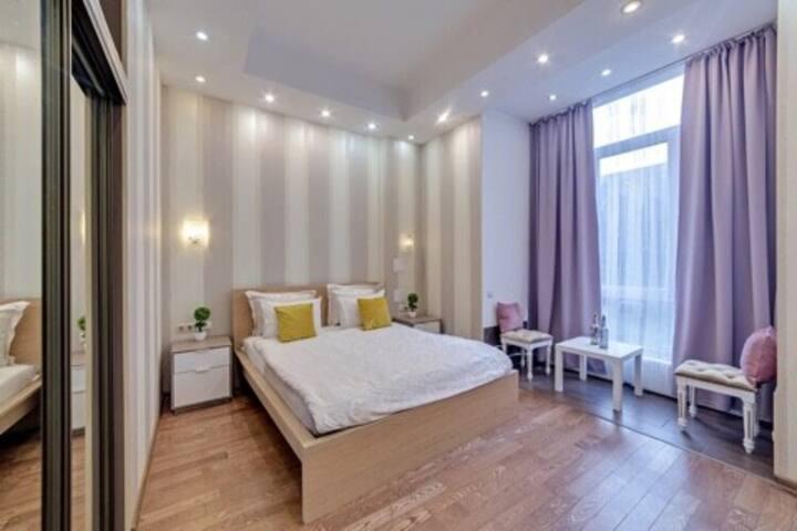 Красивая квартира на Тверской
