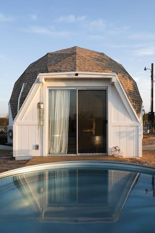 The Abracadabra  Dome in The Desert
