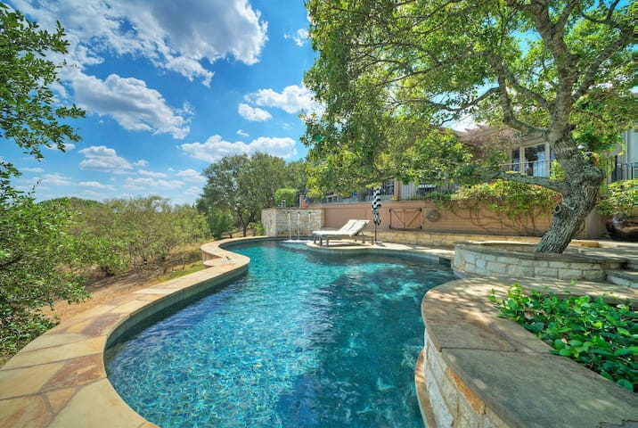 Hill Country Retreat with private pool and views