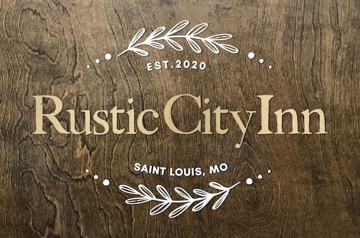 BRAND NEW! The Rustic City Inn