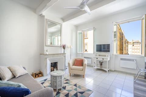 Appartement cosy et lumineux, proche du vieux port